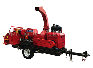 GYFS-300Q Traction wheel chassis tree (branch) slicer/crusher