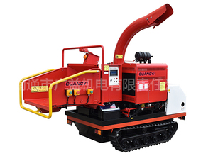 GYFS-200Crawler self-propelled tree slicer/shredder